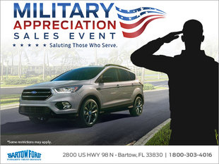 Military Appreciation Sales Event