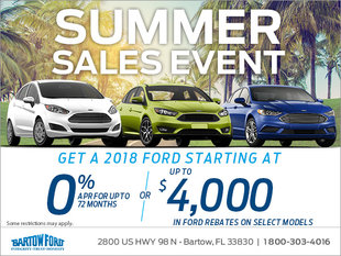 Get a 2018 Ford