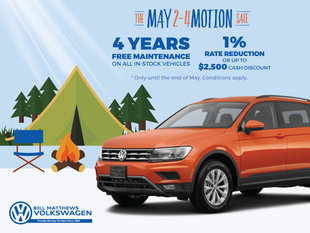 The May 2-4 Motion Sale
