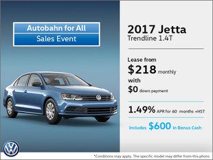 Get the 2017 Jetta!