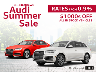 Bill Matthews Audi Summer Sale