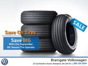 September Tire Special