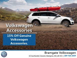 This Month: 15% Off VW Genuine Accessories