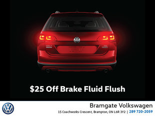 This Month: $25 Off Brake Fluid Flush