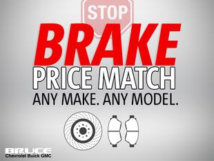 We Price Match on Brakes!