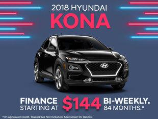 Finance the 2018 Kona