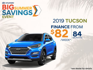 Finance the 2019 Tucson