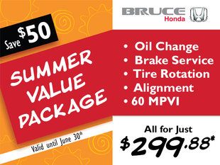 Get Ready for Summer with Our Service Value Package