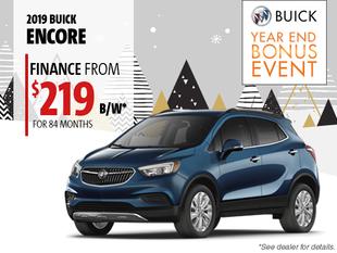 Finance the 2019 Buick Encore
