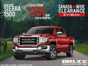 Lease the 2018 Sierra 1500