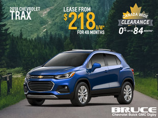 Lease the 2018 Chevrolet Trax