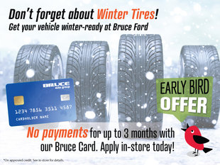 No Payments for 3 Months on Tires