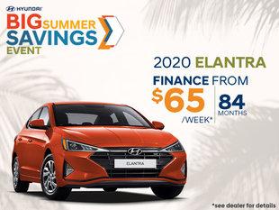 Finance the 2020 Hyundai Elantra