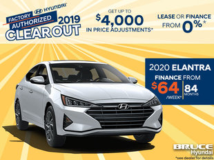 Finance the 2020 Hyundai Elantra
