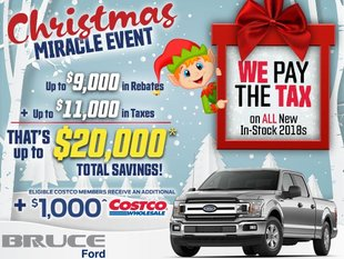 We Pay the Tax - Christmas Miracle Event on Now!