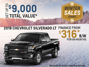 Get the 2018 Chevy Silverado!
