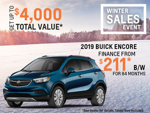 Get the 2019 Buick Encore