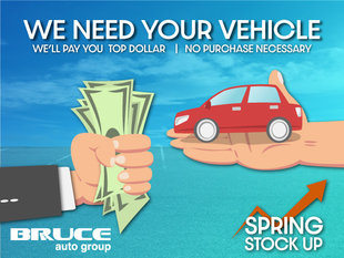 Spring Stock Up - We Need Your Vehicle!
