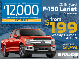 Manager's Special - Loaded 2018 F-150 Lariat