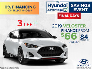 Finance the 2019 Veloster