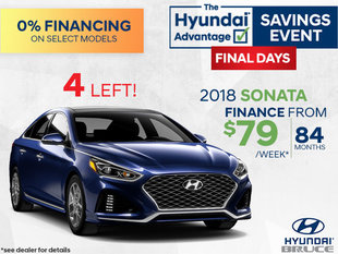 Finance the 2018 Hyundai Sonata