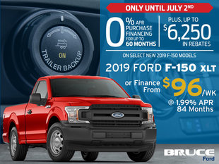 0% Financing on Select New 2019 F-150s