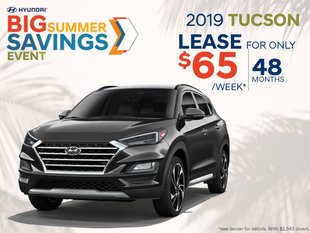 Lease the 2019 Tucson