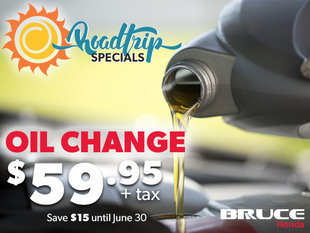 Roadtrip Oil Change Special