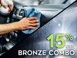 Save 15% on Bronze Combo Detailing Package