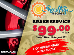 Brake Service $99 + FREE Wipers