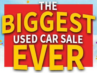 The BIGGEST Used Car Sale EVER