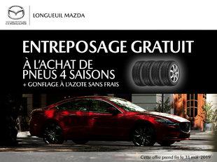 Entreposage gratuit à l'achat de 4 pneus 4 saisons