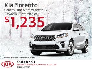 Kia Sorento | Winter tire special