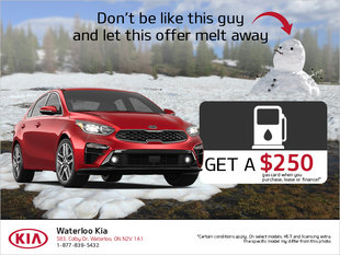 $250 Gas Gift Card Offer