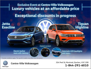 Exclusive Event at Centre-Ville Volkswagen
