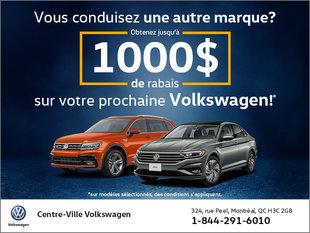 Conduisez-vous une autre marque que Volkswagen?