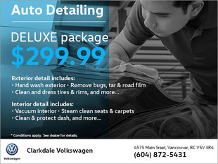 Deluxe Auto Detailing Package