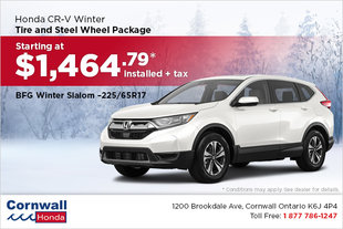 Get Your CR-V Winter Ready!
