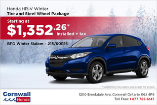 Get Your HR-V Winter Ready!
