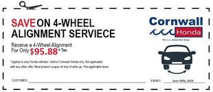 Save on a 4-Wheel Alignment