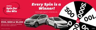 Honda Spin & Win