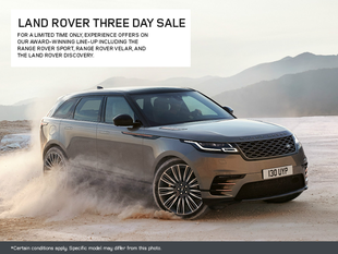Land Rover Three Day Sale