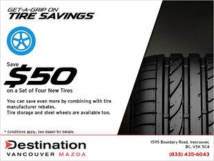 Get-a-Grip on Tire Savings
