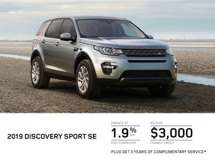 Get the 2019 Land Rover Discovery Today!