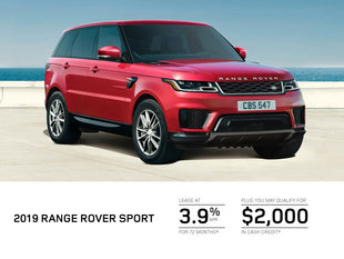 Get the 2019 Range Rover Sport Today!
