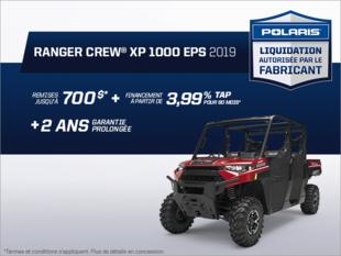 Beauce Sports - Épargnez sur le Ranger Crew XP 1000 2019