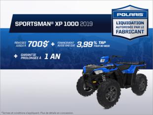 Beauce Sports - Épargnez sur le Sportsman XP 1000 2019