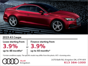 Drive the 2019 A5 Coupé today!