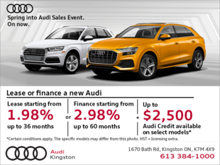 The Spring into Audi Sales Event.