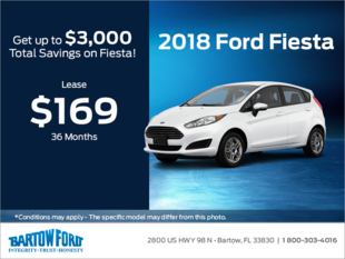 Save on the 2018 Ford Fiesta